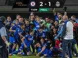 Cruz Azul derrotó a Chivas y es campeón de Copa por México