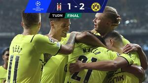 Borussia Dortmund no titubea en su presentación ante el Besiktas