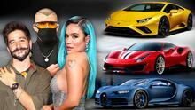 Premios Juventud 2021: un vistazo a los carros que conducen tus artistas favoritos