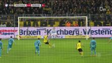 Marco Reus abre el marcador y tiene ganando al Dortmund sobre el Friburgo