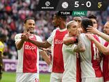 Edson Álvarez anota su primer tanto de la temporada en goleada del Ajax ante el Vitesse