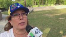 Venezolanos se reúnen en Cary en apoyo a Juan Guaidó
