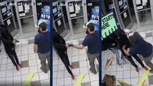 Video capta como un veterano detiene a un sospechoso armado en una gasolinera de Arizona