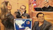 El negocio del transporte de drogas de 'El Chapo' parecía una invasión aérea, según narco colombiano
