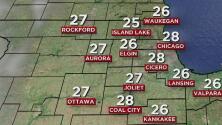 Así estarán las condiciones del clima durante este lunes en Chicago