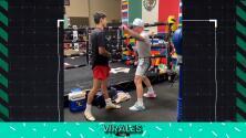 Canelo 'enseña' a trucos a Ryan García