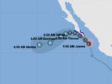 El huracán Olaf se dirige hacia Cabo San Lucas: ve aquí su trayectoria