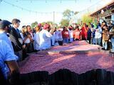 Dominicanos rompen el récord por el mangú más grande del mundo