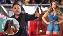 La Bronca se entera de que Oscar de la Hoya tiene novia y aunque está celosa, apoya su pronóstico para la pelea
