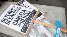 """""""La situación está muy difícil"""": comunidad pide a las autoridades aprobar extensión de moratoria de desalojos"""