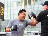 Oscar De la Hoya: Quizá en toda mi carrera he sido infeliz