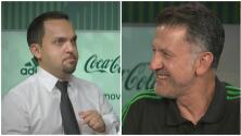 Elvis tuvo una 'entrevista exclusiva' con Osorio previo al México vs. Brasil