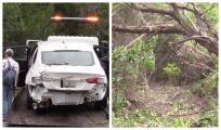 Carro cae por acantilado de 20 a 30 pies en Austin y nadie resulta herido