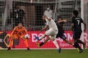 El delantero argentino Gonzalo Higuaín marca su segundo doblete para Inter Miami