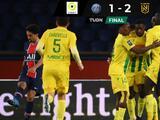 El PSG cae ante Nantes, no aprovecha empate de Lille y sigue segundo en la Ligue 1