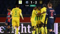 ¡Campanada! El Nantes vence de visita el PSG que sigue segundo en Francia