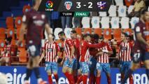 ¡Tercera derrota al hilo! Huesca y Ambriz caen ante Lugo