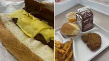 """""""Yo no veo nada de nutrición"""": polémica por almuerzo en una escuela de Paterson, Nueva Jersey"""