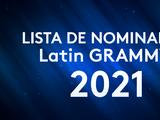 Lista completa de los nominados a los premios Latin GRAMMY 2021