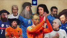 ¡Rivalidad en todo! Inglaterra e Italia, un duelo hasta por sus pintores