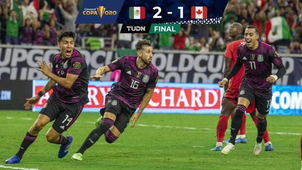 Con Dos Santos en el cielo... México está en la Final de Copa Oro