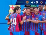 Con goles tardíos, Barcelona goleó al Nàstic en amistoso