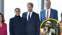 """""""¿Para qué?"""" Cuestionan por qué en Nueva York se recibió a Meghan y Harry como funcionarios de la realeza"""