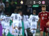 ¡Sorpresa! M'Gladbach golea y elimina al Bayern de la Copa alemana