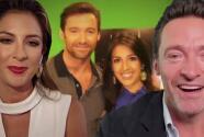 La encantadora reacción de Hugh Jackman con Maity Interiano por una foto de sus inicios en la TV