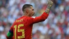 España abrió el marcador ante Rusia gracias a un autogol de Ignashévich