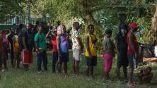 Más de 800 migrantes haitianos llegan a un albergue en Monterrey: esta es su situación