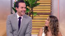 """""""Ya tenemos el nombre"""": Carlos Calderón se pone nervioso al contar que pronto nacerá su bebé con Vanessa Lyon"""