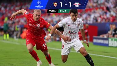Sevilla y Salzburgo empatan e imponen récord de penales