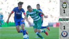Santos 1-1 Cruz Azul - RESUMEN Y GOLES - Jornada 7 del Apertura 2018 de la Liga MX