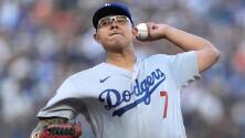 Julio Urías logra su victoria número 16 de la temporada con Dodgers