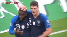 ¡GOOOL! Jonathan Ikoné anota para France