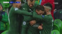 ¡Letal! Marcus Berg marca el gol de la ventaja para Krasnodar