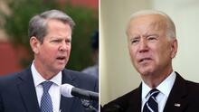Gobernador Brian Kemp responde a las medidas anunciadas por el presidente Joe Biden