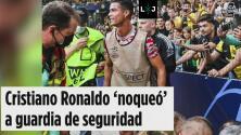 ¿Qué chinga… estaba pensando Cristiano Ronaldo con su pelotazo?