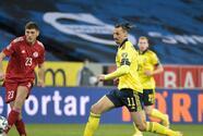 Suecia gana con asistencia de Zlatan en su regreso