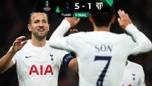 Hat-trick de Harry Kane corta racha sin ganar del Tottenham