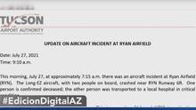 Muere una persona en accidente aéreo en Tucson