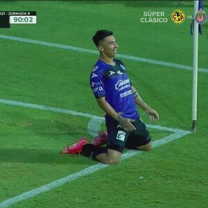 ¡Se enciende la afición! Daniel Amador coloca el 2-2 ante Pumas