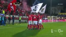 Goool!! Raúl Alonso Jiménez Rodríguez cobra la pena máxima y anota para el Benfica