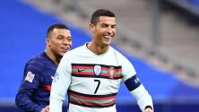 Mbappé y Cristiano Ronaldo abandonan a sus selecciones