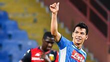 'Chucky' Lozano es ya el cuarto mejor anotador del Napoli