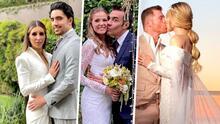 Alex Fernández, Adrián Uribe y Saúl 'Canelo' Álvarez se casan con sus parejas y aquí los detalles de cada boda