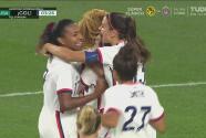 ¡Madrugan a Paraguay! Rose Lavelle remata sola y anota el 1-0