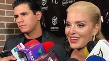 Junto a su novio, Malillany Marín enfrenta las preguntas sobre el intercambio de parejas con José Manuel Figueroa