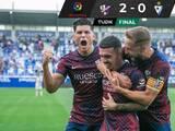 Ambriz tuvo un esperanzador arranque de torneo con el Huesca